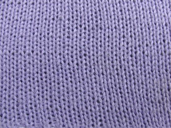 Glatte Muster – glatt rechts und glatt links