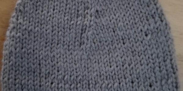 einfache Sockenspitze stricken
